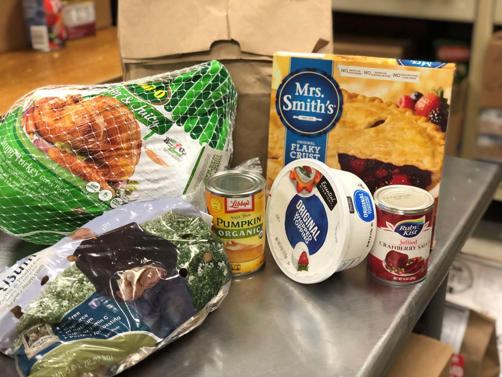 Food Shelf Turkey Meal