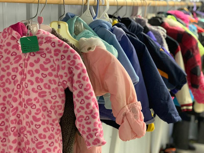 Tusen Tack Thrift Store Clothing